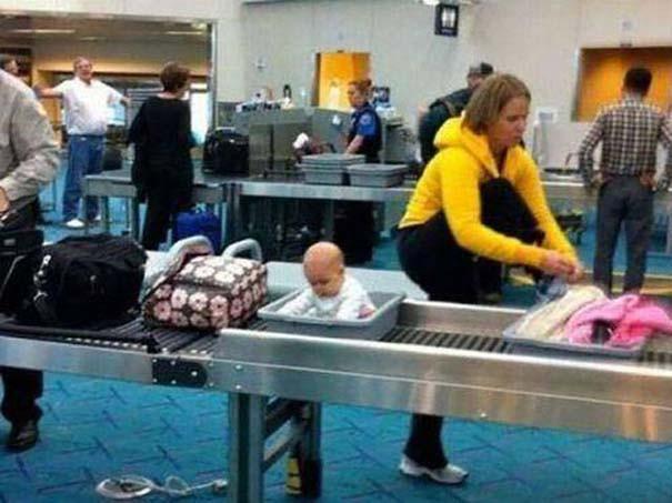 20 περίεργα και αστεία σκηνικά στο αεροδρόμιο