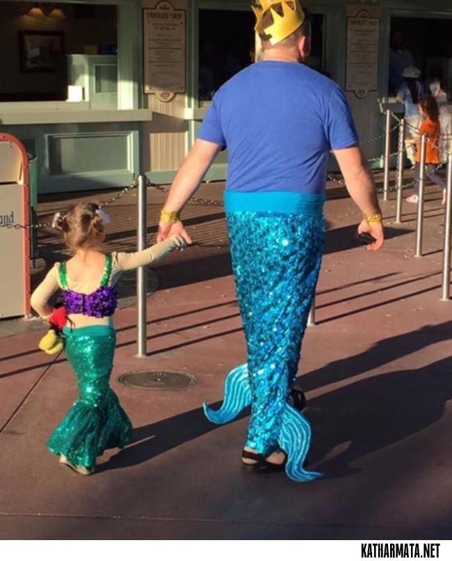 Αυτοί οι μπαμπάδες δεν κολλάνε πουθενά όταν πρόκειται για τα παιδιά τους!
