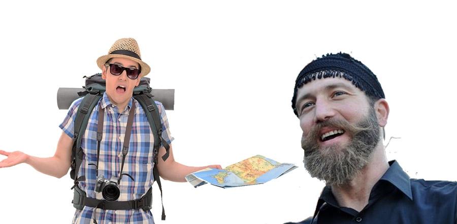 Ανέκδοτο της Εβδομάδας: Ο Σήφης, ο Μανούσος και ο τουρίστας.