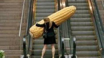 Ανέκδοτο : Η ξανθιά και οι κυλιόμενες σκάλες ! Τρελό γέλιο