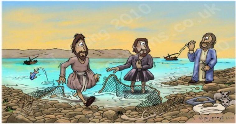 Ανέκδοτο: Τέσσερις Παντρεμένοι Άντρες Πάνε Για Ψάρεμα.