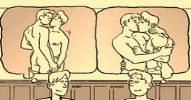 Ανέκδοτο: Δυο ομοφυλόφιλοι στο αεροπλάνο που πετάει νύχτα…!