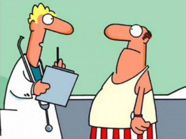 Το ξεκαρδιστικό ανέκδοτο της χρονιάς: «Γιατρέ μου, έχω μικρό…»