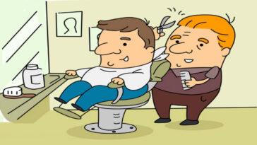 Ανέκδοτο: Ένα πρωί ένας ανθοπώλης πηγαίνει για κούρεμα…