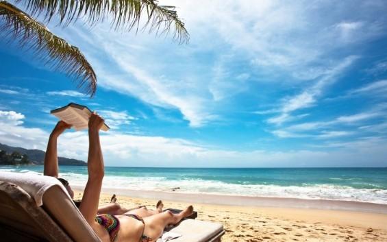 Ανέκδοτο: Στην παραλία