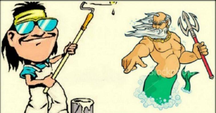 Ανέκδοτο: ένας Ελληνάρας… μπογιατζής στον Παράδεισο!