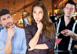 Ο τύπος στο μπαρ και η γυναίκα του μπάρμαν με το αφεντικό